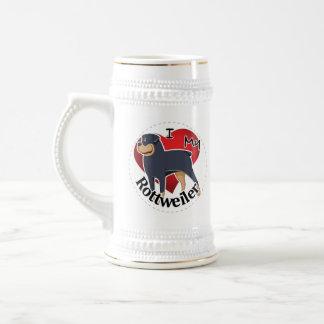 I Liebe mein glückliches entzückendes lustiges u. Bierglas