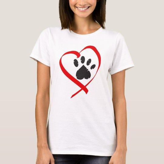 I Liebe mein Hundet-shirt T-Shirt