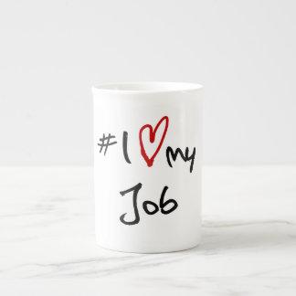 # i-Liebe mein Job Prozellantasse