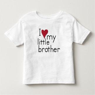 I Liebe mein kleiner Bruder Kleinkind T-shirt