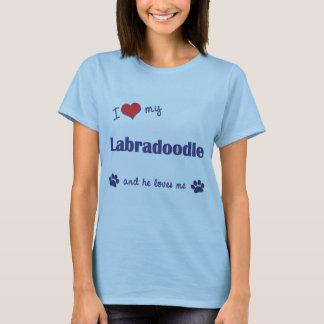 I Liebe mein Labradoodle (männlicher Hund) T-Shirt