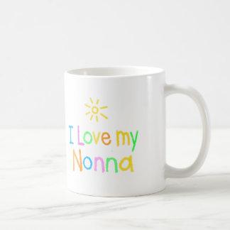 I Liebe mein Nonna Kaffeetasse