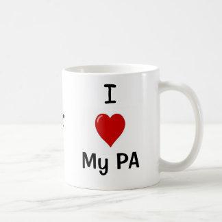 I Liebe mein PA und meine PA-Lieben ich! Kaffeetasse
