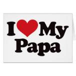 I Liebe mein Papa Karten