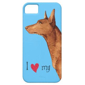 I Liebe mein Pharao-Jagdhund iPhone 5 Hüllen