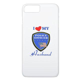I Liebe mein Polizei-Ehemann iPhone 7 Plus Hülle