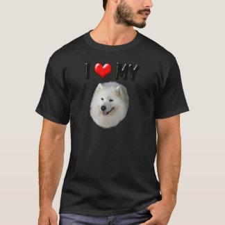 I Liebe mein Samoyed T-Shirt
