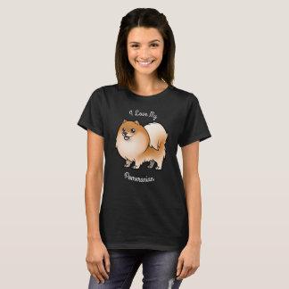 I Liebe mein Spitz T-Shirt