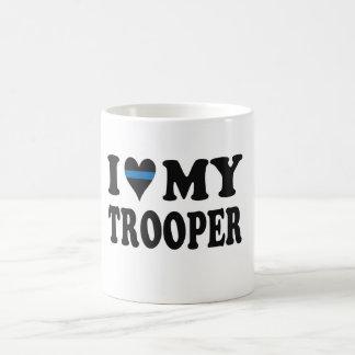 I LIEBE MEIN TROOPER! KAFFEETASSE