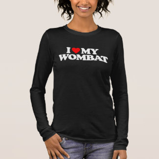 I LIEBE MEIN WOMBAT LANGARM T-Shirt