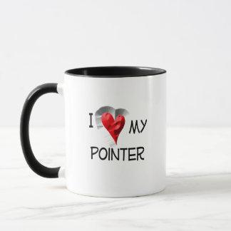 I Liebe mein Zeiger Tasse