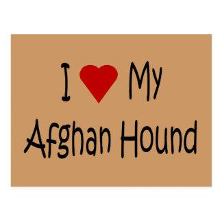 I Liebe meine afghanischen Postkarten