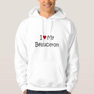 I Liebe meine Beauceron Hundeliebhaber-Geschenke Hoodie