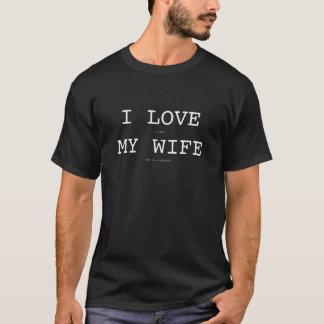 I Liebe meine Ehefrau mit T-Shirt Bumerang des