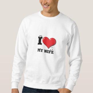 I Liebe meine Ehefrau Sweatshirt