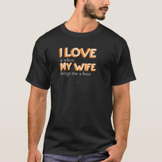 I Liebe meine Ehefrau T-Shirt