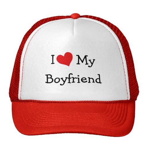I Liebe meine Freund-Baseballmütze