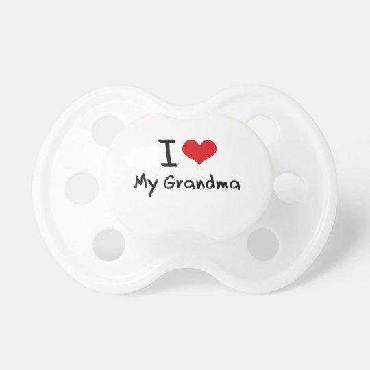 I Liebe meine Großmutter Schnuller
