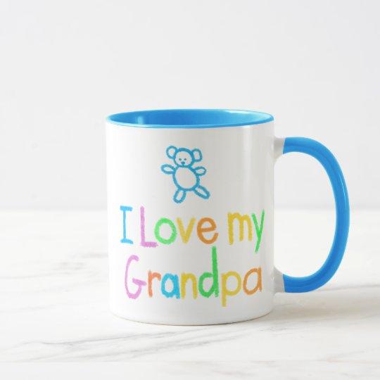 I Liebe meine Großvater-Tasse Tasse