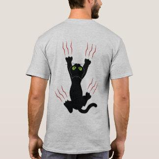 I Liebe meine Katze, doppelseitiger Druck T-Shirt