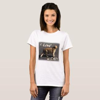 I Liebe meine Katze! T-Shirt