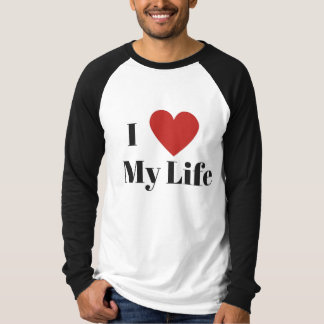 I Liebe meine Lebenraglan-Spitze (1) T-Shirt