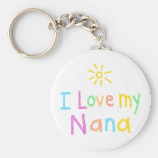 I Liebe meine Nana Schlüsselanhänger