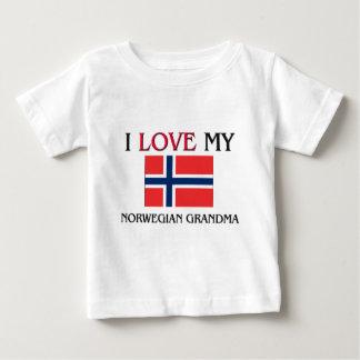 I Liebe meine norwegische Großmutter Baby T-shirt