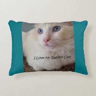 I Liebe meine Ragdoll Katze Zierkissen