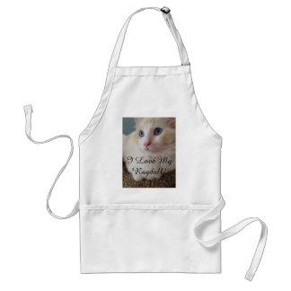 I Liebe meine Ragdoll Katzen-Schürze Schürze