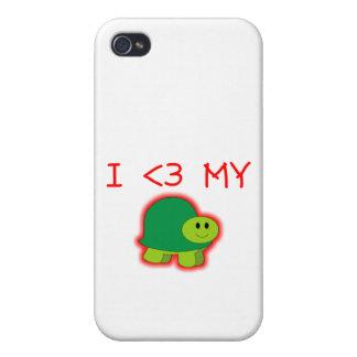 I Liebe meine Schildkröte Etui Fürs iPhone 4