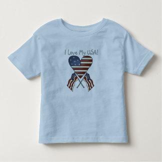 I Liebe meine USA-T-Shirts und -geschenke Kleinkinder T-shirt