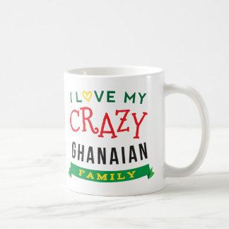I Liebe meine verrückte ghanaische Kaffeetasse