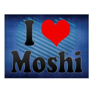 I Liebe Moshi, Tanzania Postkarte