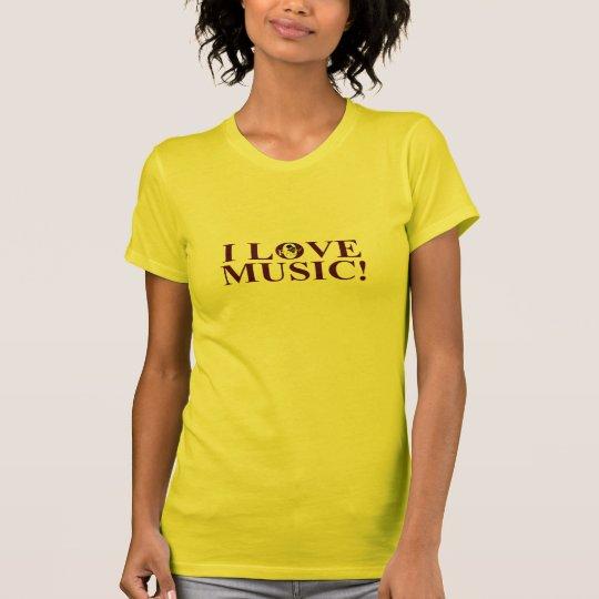 I Liebe-Musik - entwerfen Sie A T-Shirt