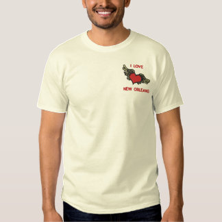 I LIEBE NEW ORLEANS gesticktes T-Shirt