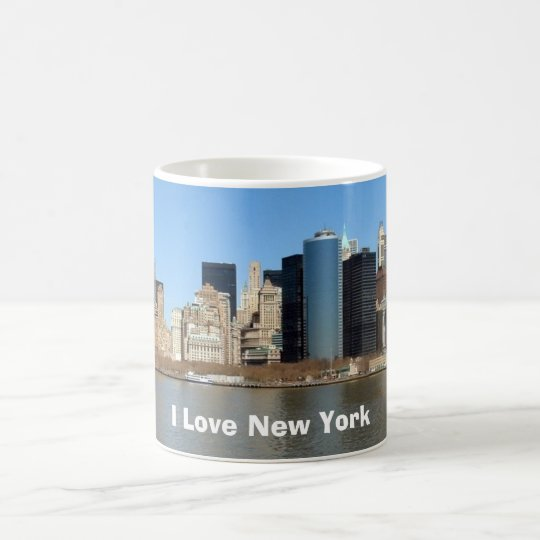 I Liebe New York Kaffeetasse