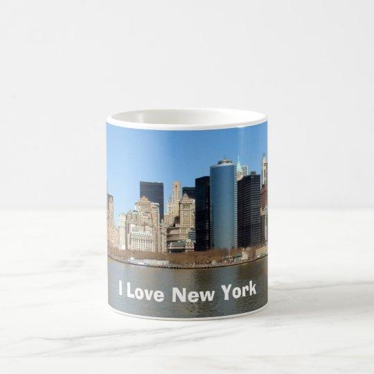 I Liebe New York Tasse