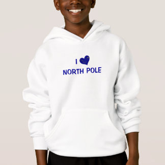 I Liebe Nordpol Hoodie
