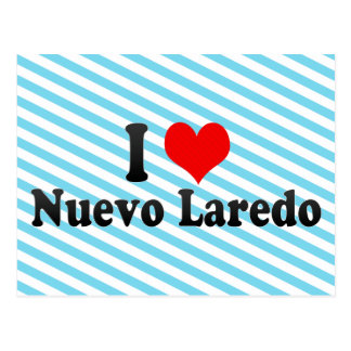 I Liebe Nuevo Laredo, Mexiko Postkarte