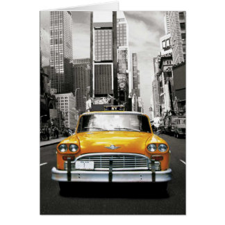 I Liebe NYC - New- Yorktaxi Karte