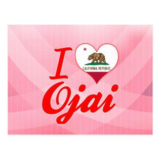 I Liebe Ojai, Kalifornien Postkarte