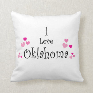 I Liebe Oklahoma Kissen