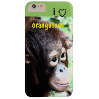 I Liebe-Orang-Utans Barely There iPhone 6 Plus Hülle
