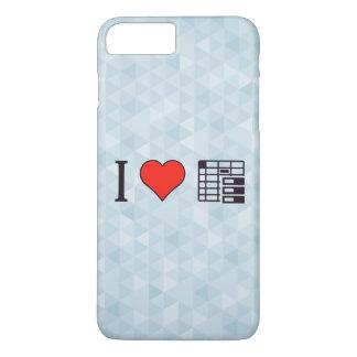 I Liebe organisiert zu werden iPhone 8 Plus/7 Plus Hülle