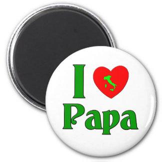I Liebe-Papa Runder Magnet 5,1 Cm