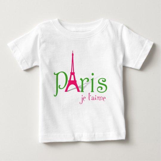 I Liebe Paris Baby T-shirt