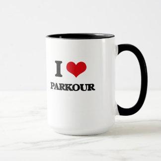 I Liebe Parkour Tasse
