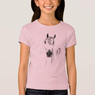I Liebe-Pferdemädchen-Baby - Puppe Shirt