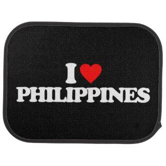 I LIEBE PHILIPPINEN AUTOFUßMATTE